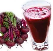 photo of beet juice