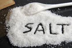 photo of salt on a table