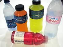 photo of water and sports drinks