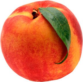 photo of large peach