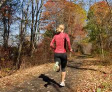 photo of fall runner