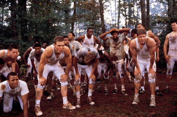 photo of team from Remember the Titans