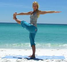 photo of yoga balance posture