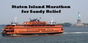 Staten Island marathon logo from Facebook