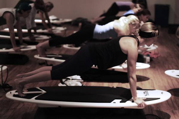 photo of surf set fitness training class