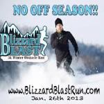 photo of Blizzard Blast race logo/poster
